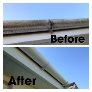 Example of our fascia cleaning service